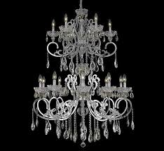 aria collection 16 light extra large crystal chandelier