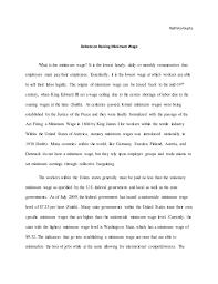 economics paper radhikagupta debate on raising minimum wage what is the minimum wage