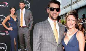 Michael Phelps and wife Nicole Johnson at ESPY Awards | Daily Mail Online