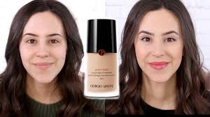 <b>Giorgio Armani Power</b> Fabric Foundation || Worth The Money ...