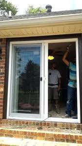 replace sliding glass door with french doors fantastic replacing sliding glass door with french doors in
