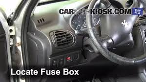 interior fuse box location 2000 2005 peugeot 206 2004 peugeot interior fuse box location 2000 2005 peugeot 206 2004 peugeot 206 xs 2 0l 4 cyl turbo diesel