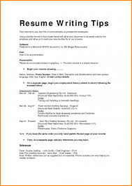 Different Types Of Resumes Simple Snapshot Format Resume Formats