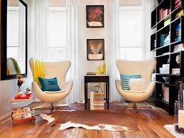 Decorating A Studio Apartment On A Budget Extraordinary Small Living Room Design Ideas And Color Schemes HGTV