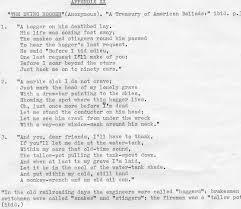 essay tracing the origins of dying crapshooters blues appendix xx appendix xx
