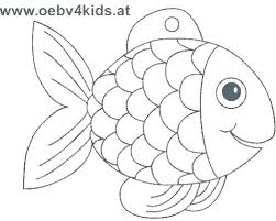 Coloring Template Free Fish Pages Disney Wakacyjnie Info