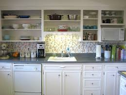 Kitchen No Wall Cabinets No Door Kitchen Cabinets
