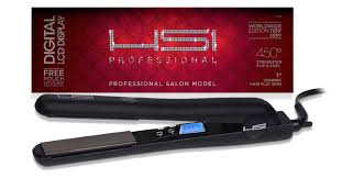 hsi professional digital ceramic flat iron with tourmaline