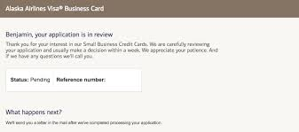 Applying For The Alaska Business Card My Experience One Mile At A