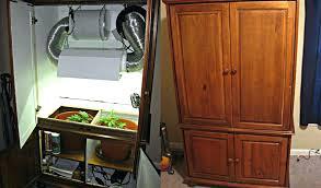 grow closet setup ventilation cfl diy