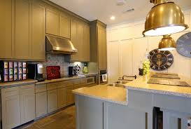 kitchen interior at the west end lodge apartments in beaumont tx