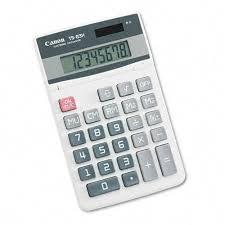 Canon Ts83h Portable Desktop Calculator