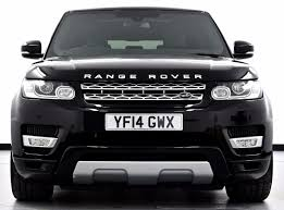 land rover evoque 2014 black. used 2014 14 land rover range sport 30 sd v6 hse station wagon 4x4 5dr land rover evoque black
