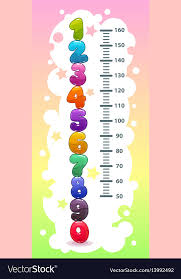 Height Chart Pictures Kids Height Chart With Funny Cartoon Colorful