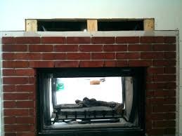 removing brick from fireplace veneer installed for wall bri removing brick from fireplace