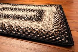 rectangular braided rugs black mist rug how to make rectangular braided rugs