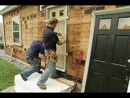 installing front doorHow to Install a Fiberglass Entry Door  This Old House  YouTube