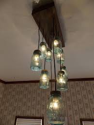 jar lighting. Lighting. Choose Your Best Creative Chandeliers Ideas. Mesmerizing Interior Dining Room Accessories Ideas Establish Jar Lighting O