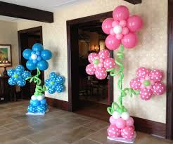 balloon decoration ideas for 1st birthday party at home stunning