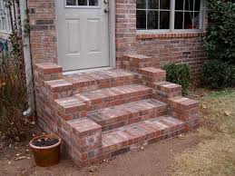 laying a brick patio over concrete awesome brick steps hardscapes of laying a brick patio