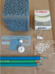 materials for making a stained glass inspired pendant