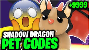 Maybe you would like to learn more about one of these? All New Shadow Dragon Roblox Adopt Me Pet Codes Working 2021 Youtube