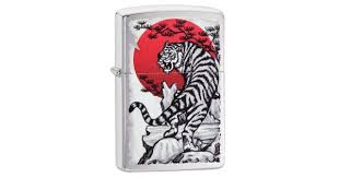 <b>Зажигалка ZIPPO Asian Tiger</b> Brushed Chrome | Цена: 2530 руб.