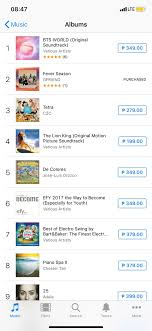 Itunes Philippines Album Chart Gfriend_feverseason At 2 On Itunes Philippines Album Chart