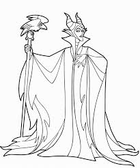 Small Picture Free Maleficent To Color With Coloring Pages 4 And itgodme