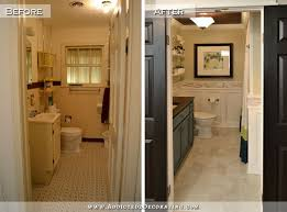 Home Bathroom Remodeling Enchanting DIY Bathroom Remodel Before After
