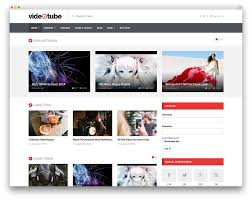 website template video best wordpress video themes for embedded and self hosted videos