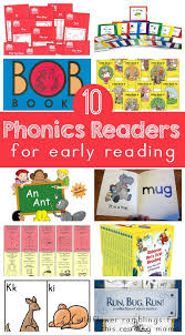 The 20 best phonetic alphabet programs for kids. 10 Phonics Readers For Early Reading