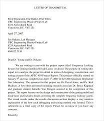 Letter Of Transmittal For Proposal Free Download