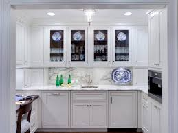 64 most better beautiful glass kitchen cabinet doors with for plates and glasses in white traditional cabinets marble backsplash also countertops stainless
