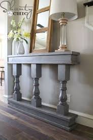 narrow hall tables furniture. DIY Console Table Narrow Hall Tables Furniture L