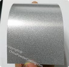 Chrome Silver Metallic Powder Coating Paint Colors