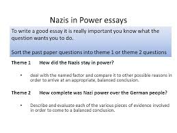 nazis in power essays to write a good essay it is really important  nazis in power essays to write a good essay it is really important you know what