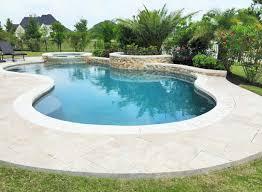 custom inground pools. Pools \u0026 Spas Gallery, Custom Inground In Houston - Freeform Pool With Raised Spa And Wall L