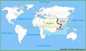 monaco maps  maps of monaco