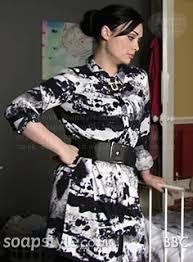 whitney black white. Whitney\u0027s Black \u0026 White Shirt Dress In EastEnders - SoapStyle Whitney A