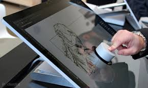 Micrsoft Table Microsoft Surface Studio A Stunning All In One Pc That Doubles As A