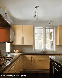 Kitchen task lighting Wall Mount Another Great Kitchen Task Lighting Option Is Track Lighting As Shown In The Kitchen Above Track Lighting Is Suspended From The Ceiling Keidel Supply Kitchen Task Lighting Keidel Supply