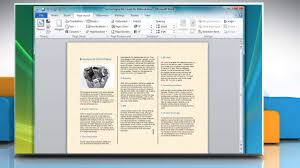 How To Make Your Own Brochure On Microsoft Word How To Make A Tri Fold Brochure In Microsoft Word 2007