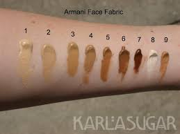 <b>Giorgio Armani Face Fabric</b> Second Skin Nude Makeup reviews ...