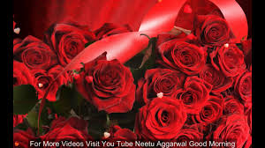 Good Morning Quotes For Girlfriend Adorable Good Morning Wishes With Beautiful Red RosesMorning Flowers For You