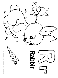 quickly letter r coloring sheet introducing pages free 12976