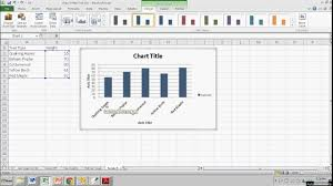 Making A Simple Bar Graph In Excel
