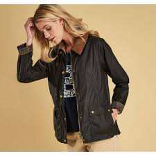 barbour lightweight acorn wax jacket