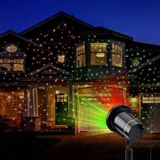 Whole House Christmas Light Projector Star Lights Outdoor Holiday Projectors