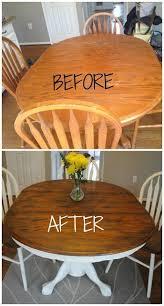 Image Sanding Refinished Dining Set Pinterest 10 Excellent Furniture Makeover Diys Diy Ideas Shabby Chic